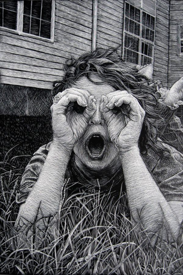 273 Best Images About Scratch Art On Pinterest Animals