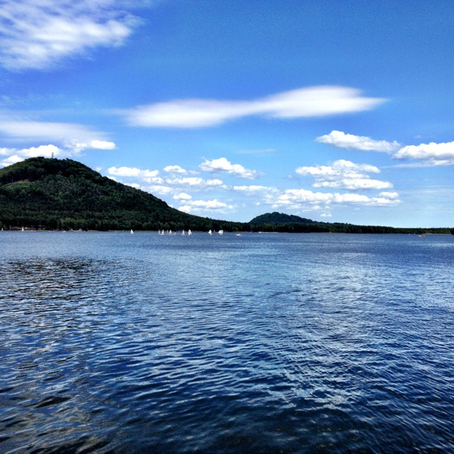Machovo lake, Czech Republic