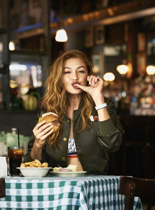 'A Day In The Life of Gigi Hadid' photographed by Bjorn Iooss