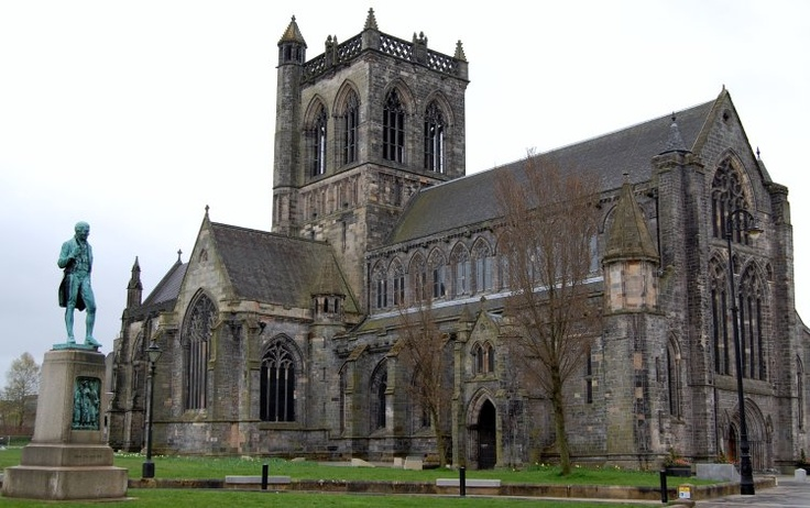paisley abbey where  my parents got married in scotland