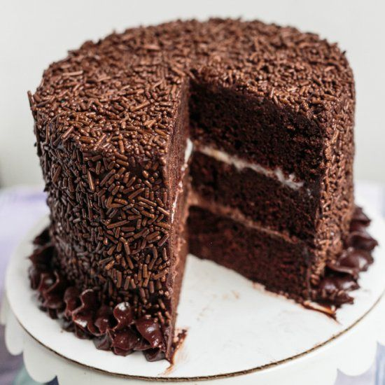 crunch devil s food cake with chocolate ganache devil s food cake ...