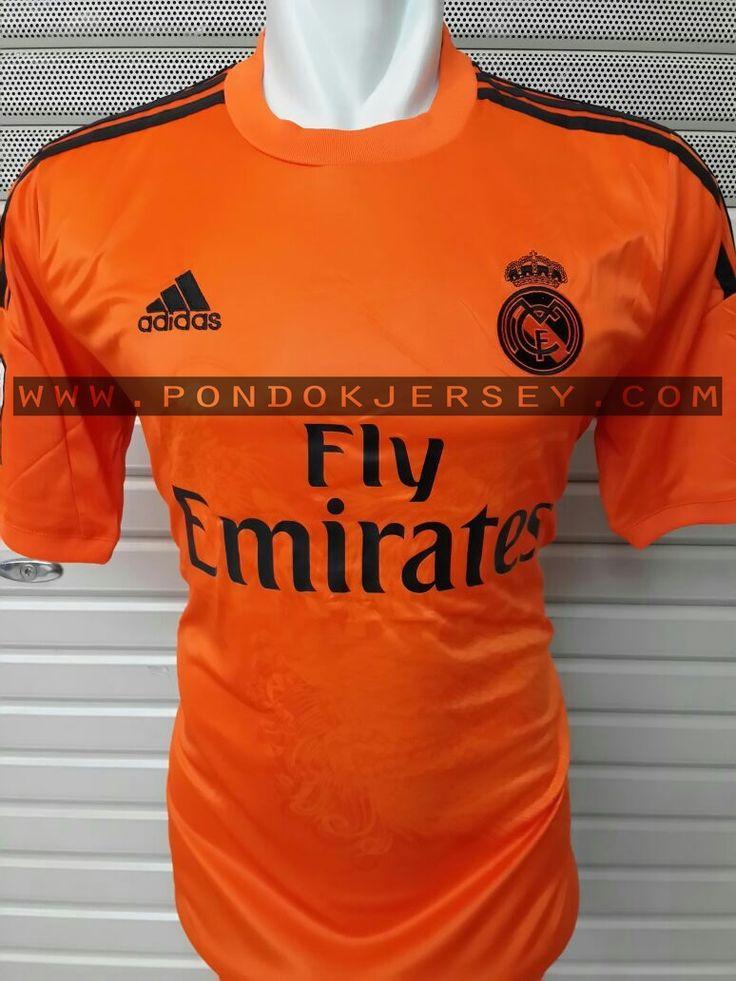 Jual Jersey Kiper Madrid Orange 2014-2015 .  #jersey #realmadrid #shop