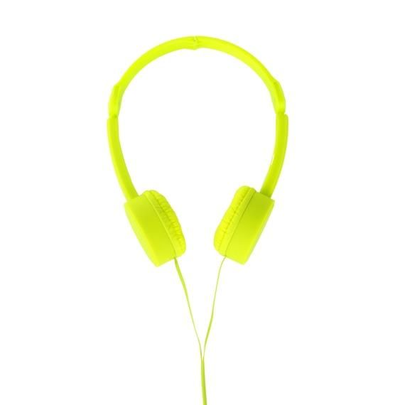 POP TONE Comfort Headphones with Tangle-Free Flat Wires - 6 Hip Colors Available