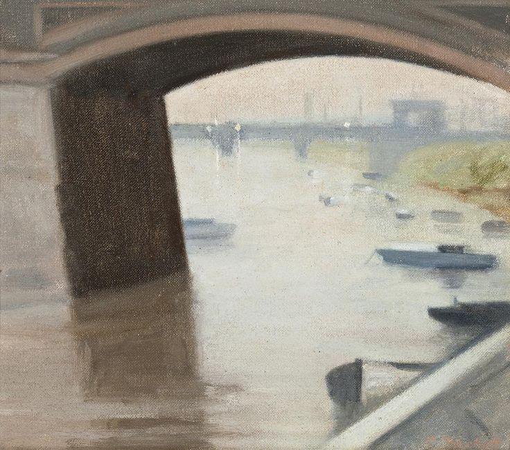 Clarice Beckett (1887-1935) - After Sunset, 1929
