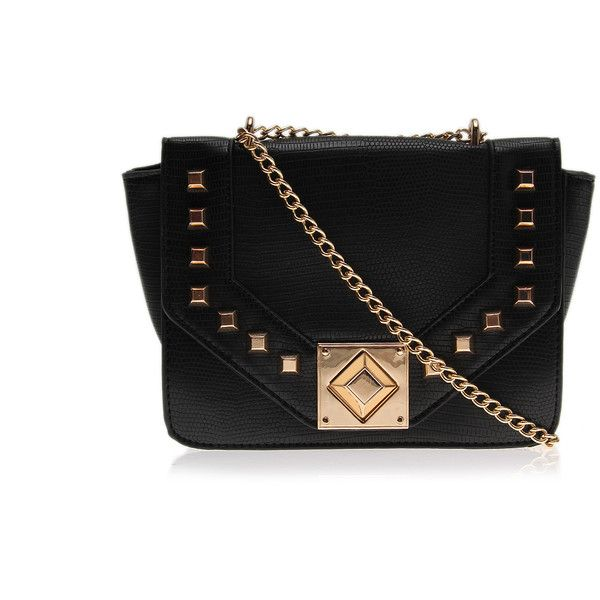 Ariadne Studded Lock Bag Carvela Kurt Geiger Black and other apparel, accessories and trends. Browse and shop 8 related looks.