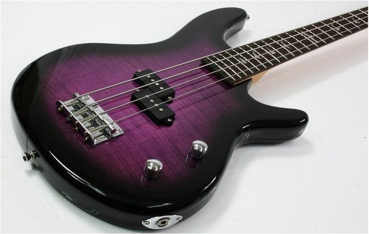 Purple Tiger Electric Bass Guitar on SALE £160.61 RRP: £189.99