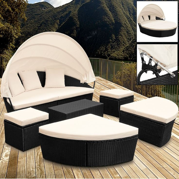 17 beste idee n over sonneninsel rattan op pinterest. Black Bedroom Furniture Sets. Home Design Ideas
