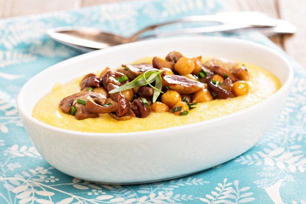 Горшочек, вари: 10 рецептов каш от гречки до булгура.  Полента с грибами