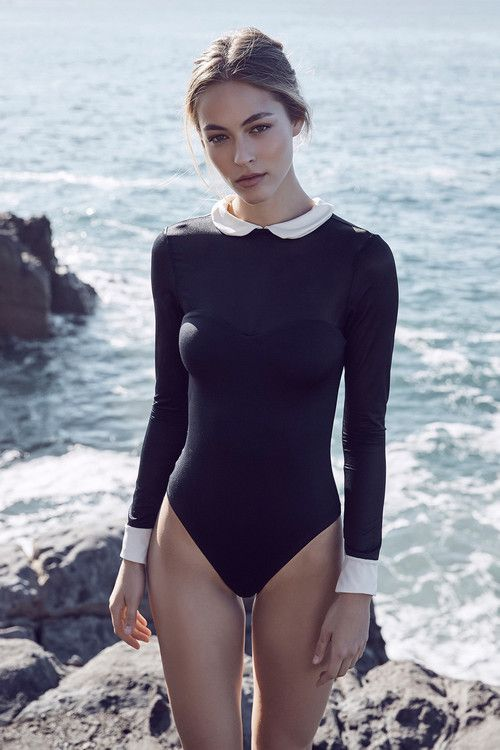 AMAIO Swim - Ballet Maillot Black