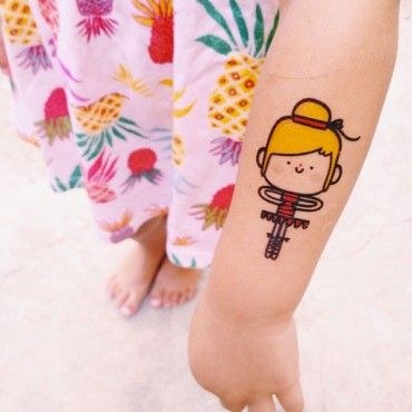 Tatuagem Temporária Circo III