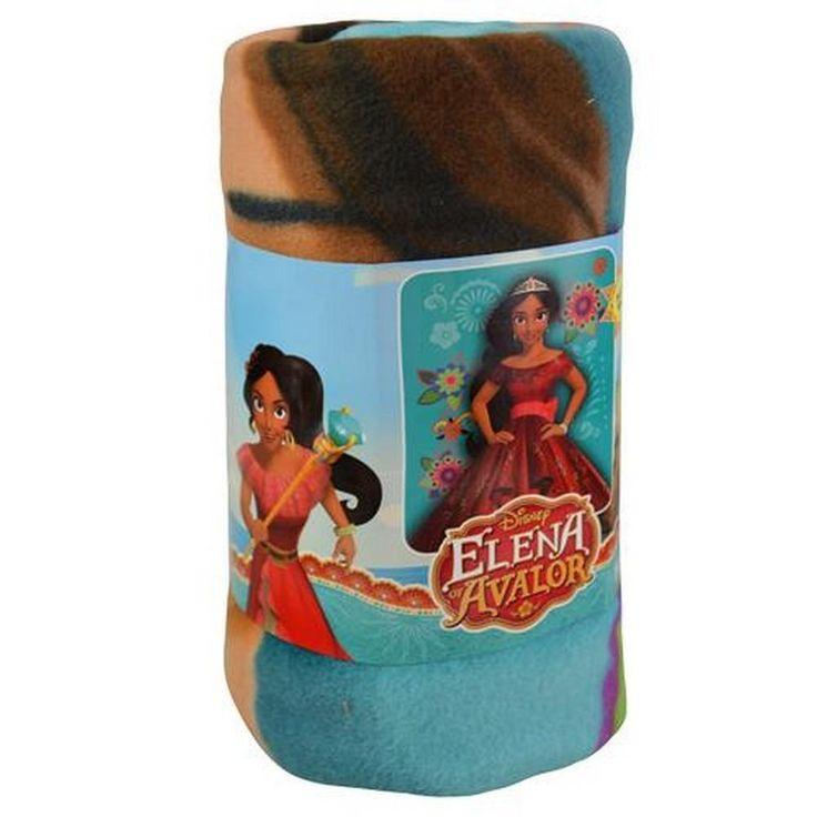 Elena of Avalor Fleece Throw - 45 x 60 Inches