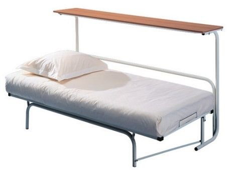 Ruimtebesparend bed ,wentelbed,Twist met bovenplank  logeerbed met matras Merk: Avek Dealer : Slaapkenner Theo Bot