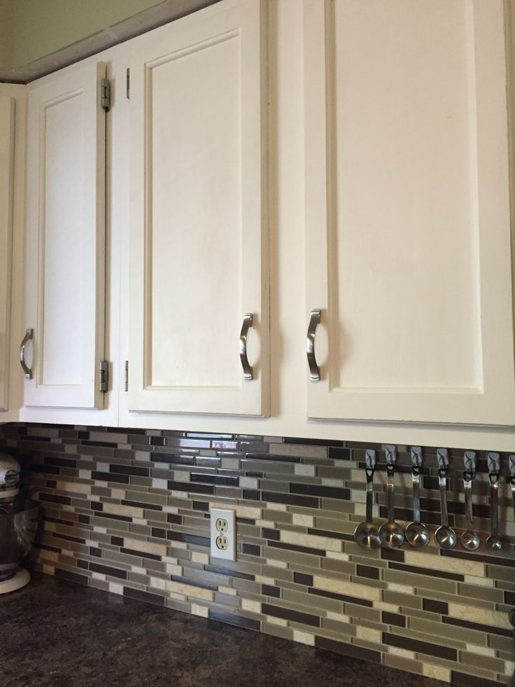 Painted Wooden Kitchen Cabinets