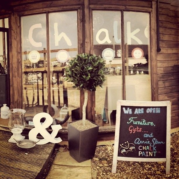 Chalk is open 7 days a week! Stop by and have a look at the wonderful furniture we have upcycled, browse our beautiful range of gifts or pick up some Chalk Paint™ by Annie Sloan