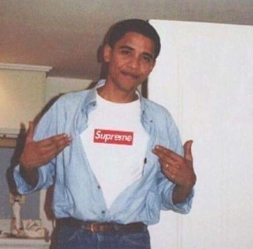 #ARRAYSOFARTS Pinterest - @houstonsoho | BaracK Obama in Supreme #TheClassyIssue