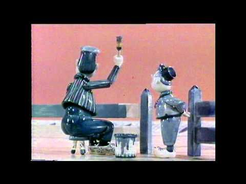 1966 - Delft Blue - Vintage puppet animation by Joop Geesink's Dollywood. - YouTube