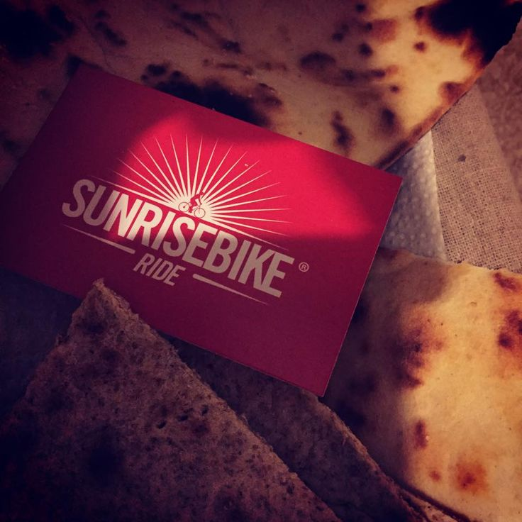 Piadine e sunrisebikeride