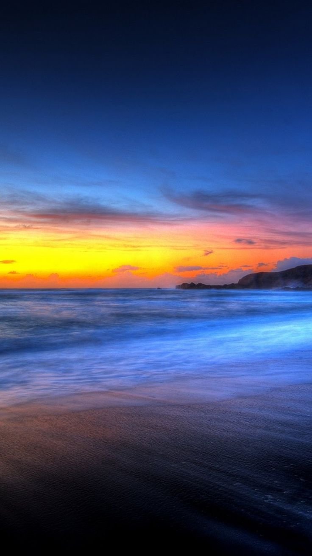 Beautiful Beach Sunset iPhone 6 Wallpaper 28803 Beach