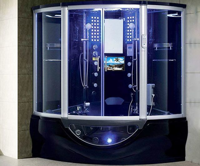 Luxury Computerized Steam Shower Sauna With Images Steam