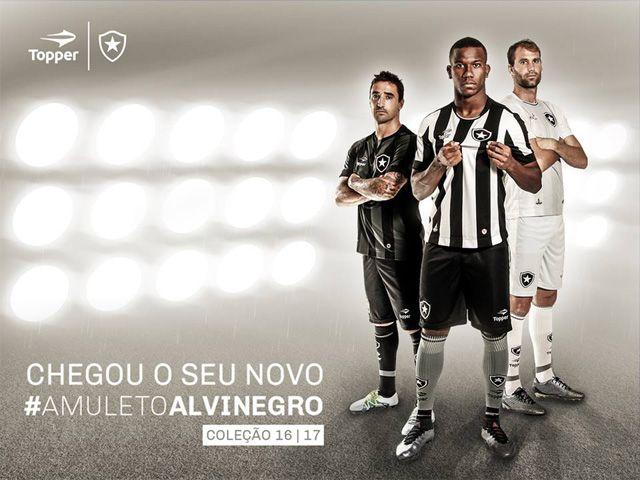 Camisas do Botafogo 2016-2017 Topper