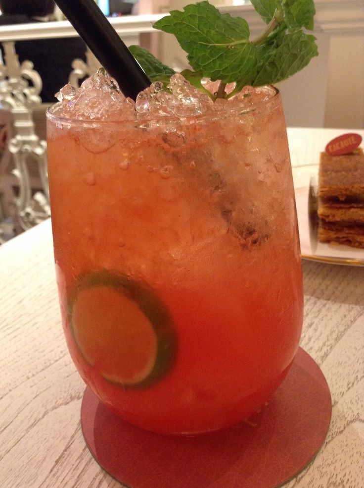 """Double """"U"""" Mocktail at Cacaote #drinks #mocktail #cacaote"""
