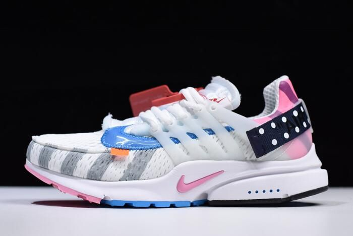 "28854c7b7842 2018 Off-White x Nike Air Presto 2.0 ""Parra"" White Multi-Color AA3830-140"