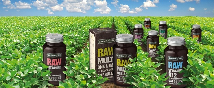 I use RAW Garden of Life supplements to complete my food.