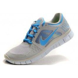 Nike Free Run+ 3 Herresko Grå Blå | billig Nike sko | Nike sko norge | kjøp Nike sko | ovostore.com