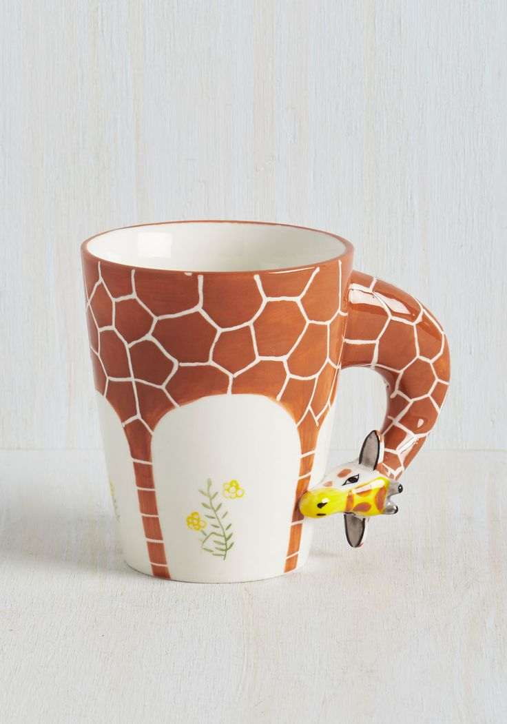 Brew You Realize? Mug. This ceramic mug will make you aware of how lively mornings can be! #brown #modcloth