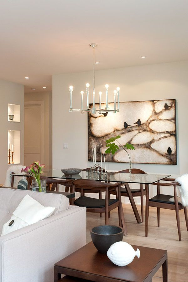 Minimalist Modern ART AFFINITY Dining Room Art Design In Vancouver