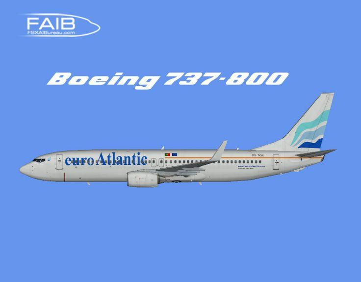 EuroAtlantic Airways Boeing 737-800 Winglets FS9