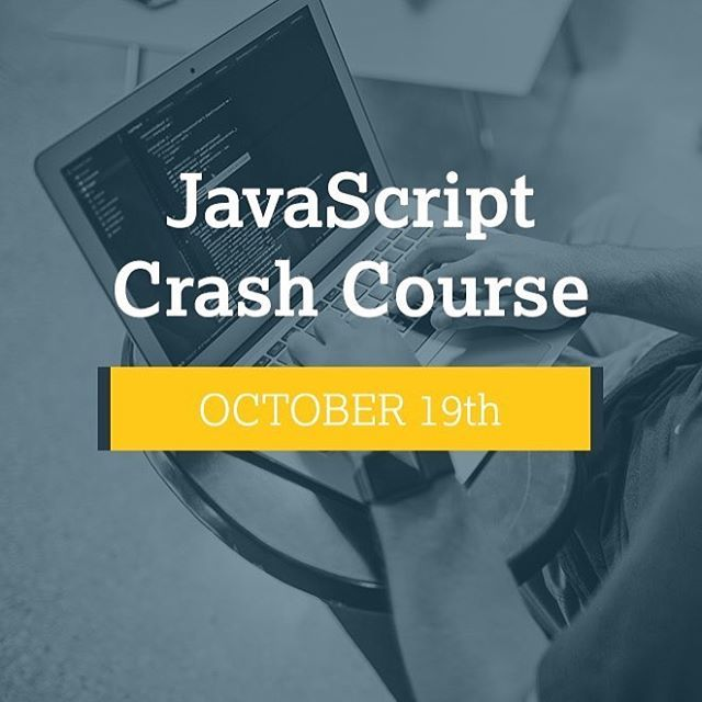 This is a workshop you don't want to miss so mark your calendars future developers  Registration link in our bio. . . #DepotU #coding #worldofprogrammers #code #developers #workshop #crashcourse #codingbootcamp #tech #technology #javascript #angularjs #frontend #fullstack #startuplife #iambham #instagrambham