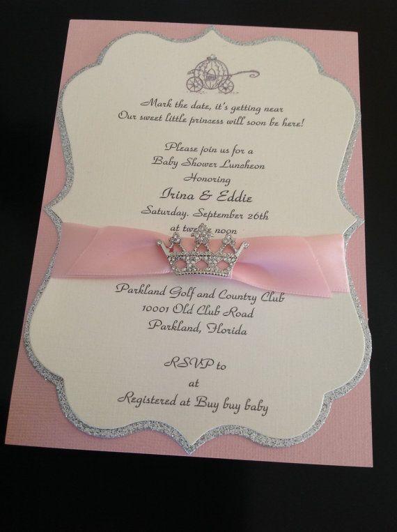 25 USA de Baby Shower o invitación de quinceañera elegante