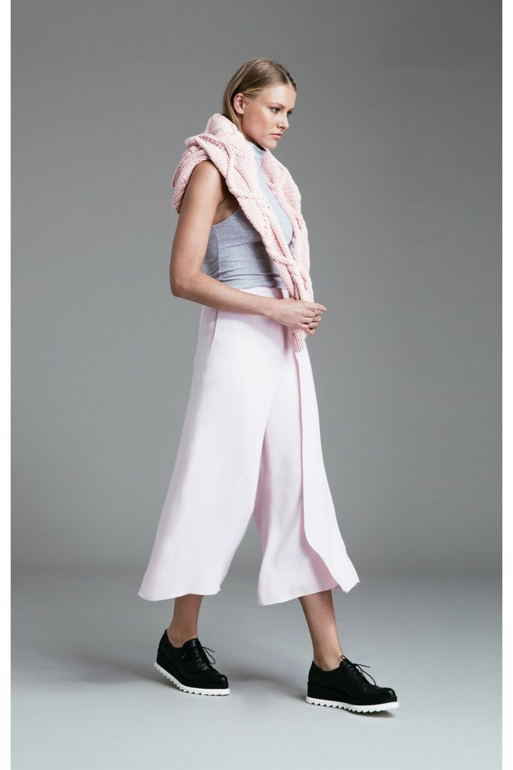 Finders Keepers WHITE LIES KNIT LIGHT PINK - BNKR