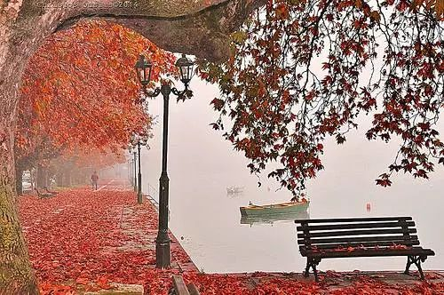 Kastoria dressed in autumn colors, Macedonia northern Greece - photo by christos ouslis...