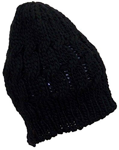 8ed131bc600 Best Winter Hats Little Girls Loose Cable Knit Skull Cap (One Size ...