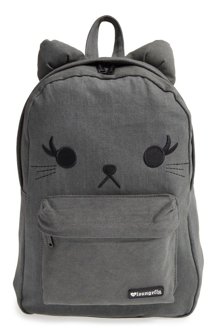 5bd492a062 Buy Loungefly Black Denim Cat Backpack at Mighty Ape NZ. Loungefly Black  Denim Cat Backpack This adorable Loungefly Black Denim Cat Backpack is the  Purrfect ...