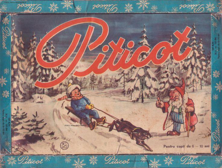 Piticot kids game, Jocul Piticot - Capac