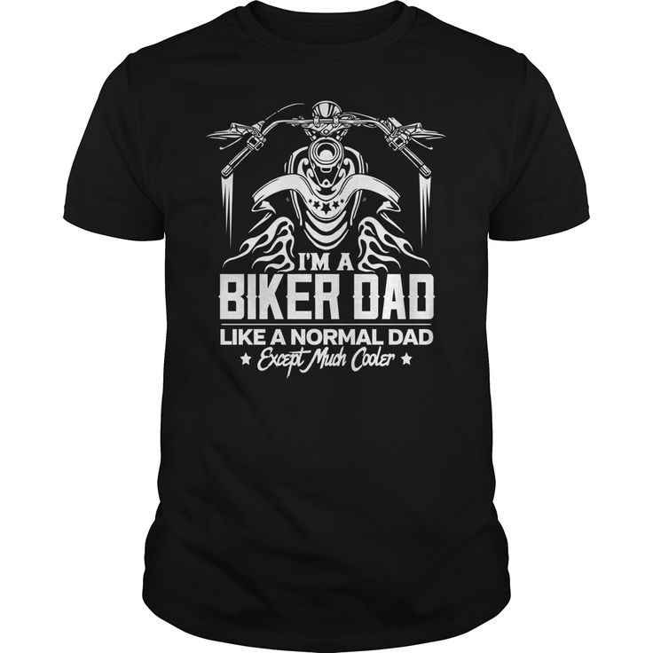 Biker dad cooler than a normal dad motorcycle gift