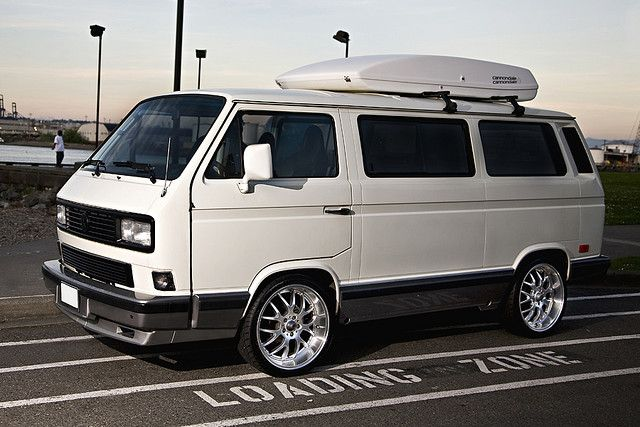 1991 Volkswagen Vanagon by *Santana, via Flickr