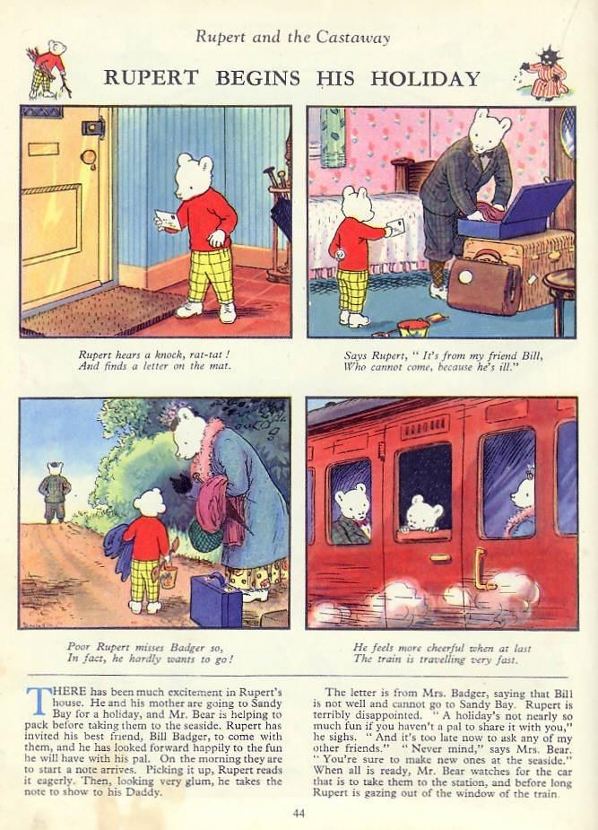 Rupert the bear - 1920