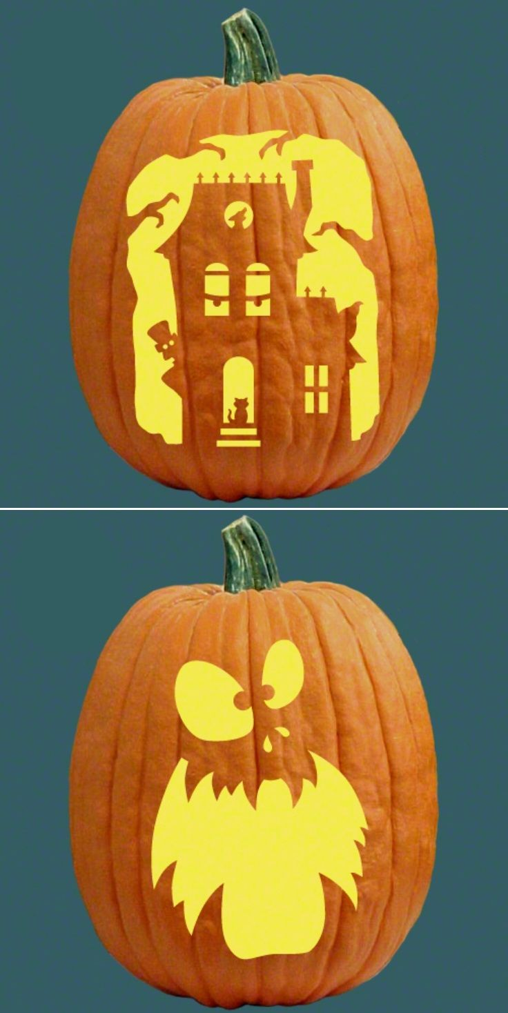 25+ best Free pumpkin carving patterns ideas on Pinterest ...
