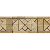 "Emser Tile Natural Stone 12"" x 4"" Travertine Vino Listello in Freisa & Reviews | Wayfair"