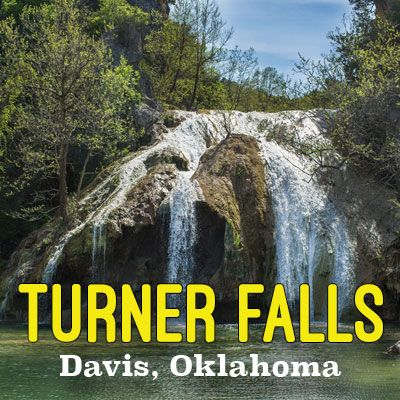 Home Of Oklahoma's Largest Waterfall  Turner Falls Park  EFFECTIVE IMMEDIATELY ALL CHILDREN AGES 12 & YOUNGER MUST HAVE A CERTIFIED  FLOTATION DEVICE! THIS IS FOR YOUR CHILDREN'S PROTECTION!  Take A Virtual Tour  Book A Cabin!