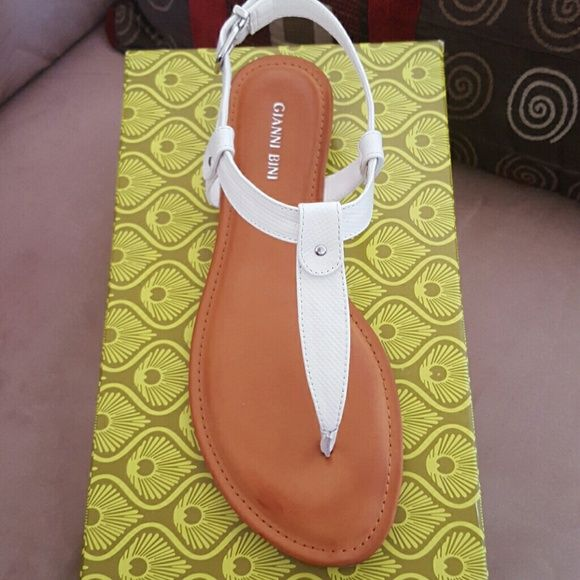 Gianni Bini Sandals Brand new...never been worn....style:lyla...Gianni Bini shoes are always very comfortable. Gianni Bini Shoes Sandals