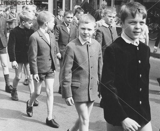 Boys in uniform, c1960s