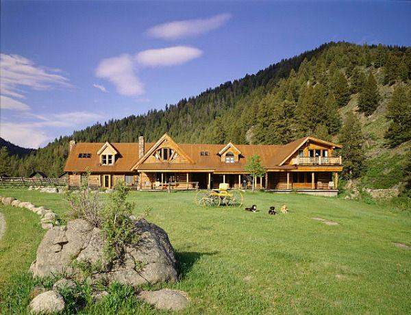 Carole King's Ranch in Idaho   hookedonhouses.net