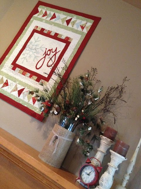 Carried Away Quilting: Christmas Quilts: Tis the Season