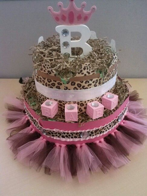 Awesome Diaper Cake!