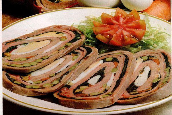 Fiambre de verduras - Recetas buenas de cocina